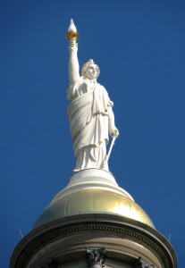 GA capitol statue